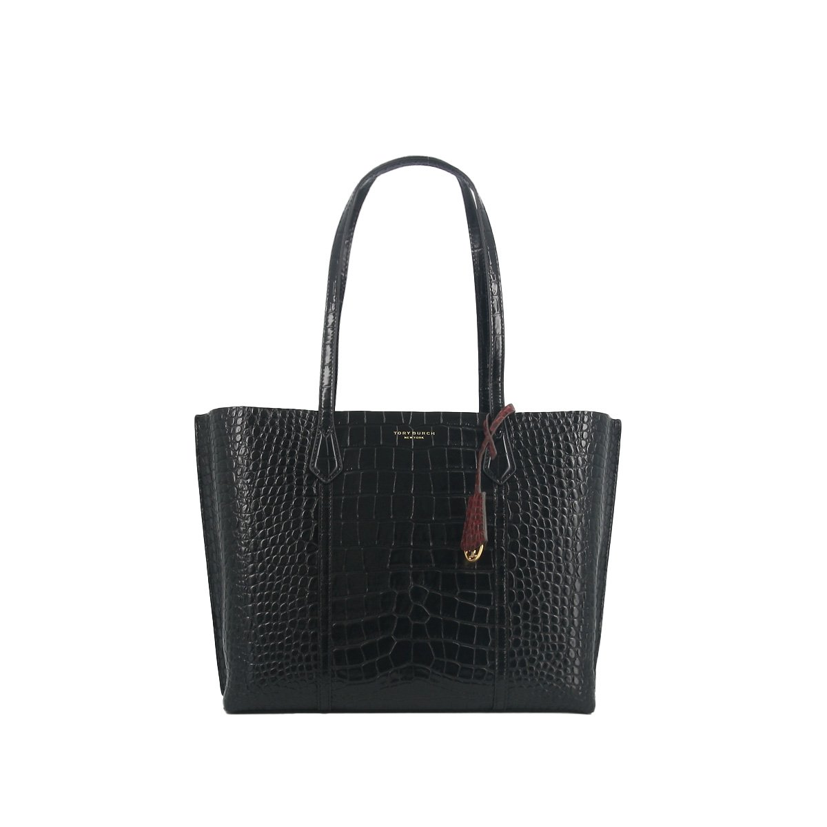Tory Burch TORY BURCH PERRY EMBOSSED TOTE BAG