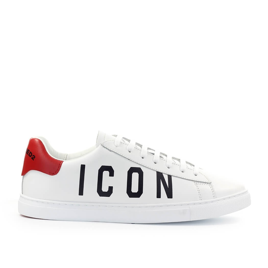 Dsquared2 DSQUARED2 NEW TENNIS WHITE RED SNEAKER